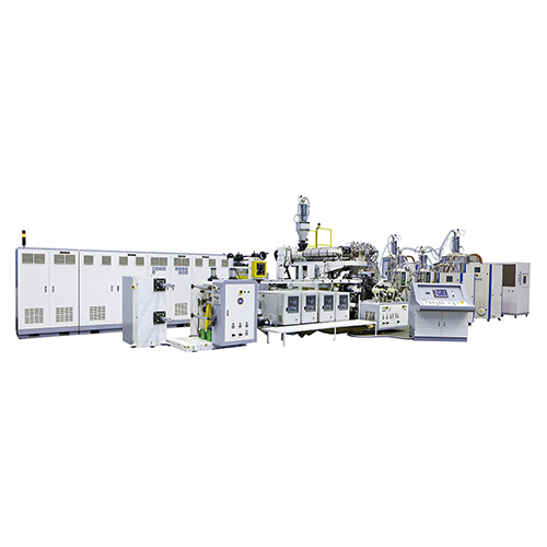 PP PA extrusion buckle strap making machine