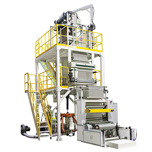 A/B/A BFT Series Co-Extrusion Blown Film Line- Oscillating Tower Type