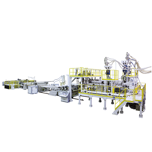 PMMA / ABS / PET Three Layer Co-Extrusion Sheet Making Machine