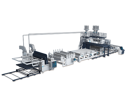 Air Bubble Hollow Board Extrusion Line (YSW-FS)