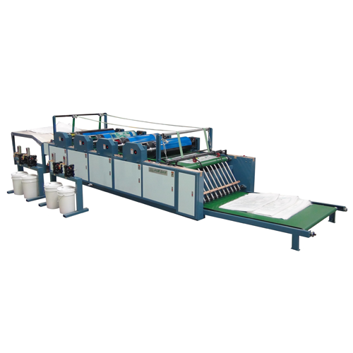Single Side 2-6 Color Piece by Piece Printing Machine-Horizontal Feeding (Direct Printing Method)