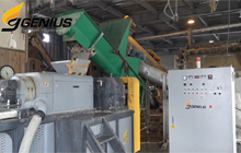 DW-350 Squeezing Dryer for PPJumbo Bag Production in Japan