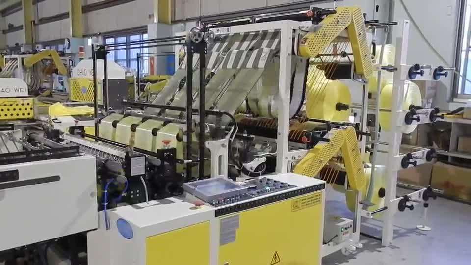 Fully Automatic T-Shirt Bag Making Machines