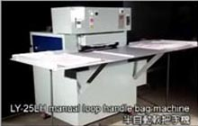 Semi-Automatic Loop Handle Bag Making Machine